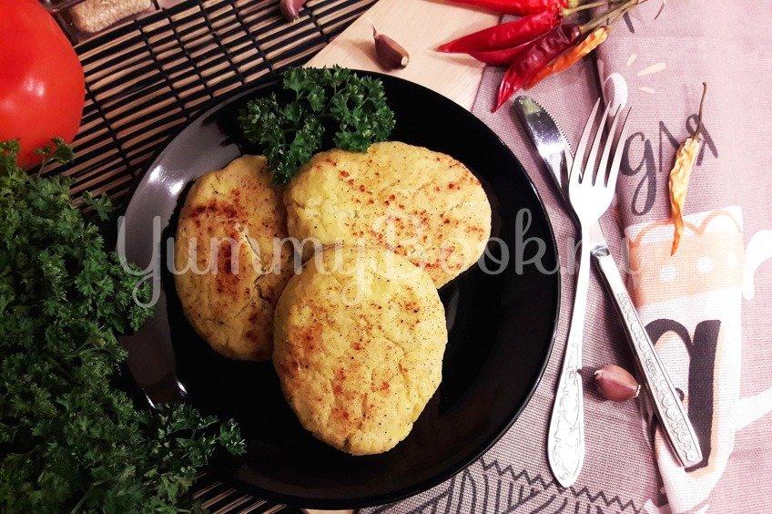 Капустно-картофельные котлеты