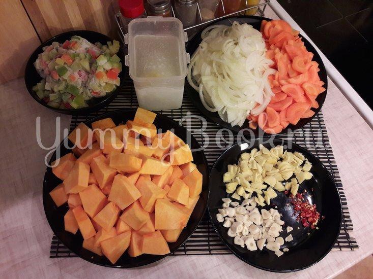 Тыквенный суп-пюре с болгарскими перцами - шаг 2