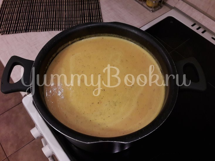 Тыквенный суп-пюре с болгарскими перцами - шаг 11