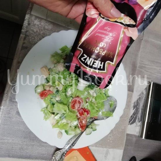 Салат с тушеной грудкой индейки - шаг 3