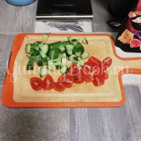 Салат с тушеной грудкой индейки - шаг 2