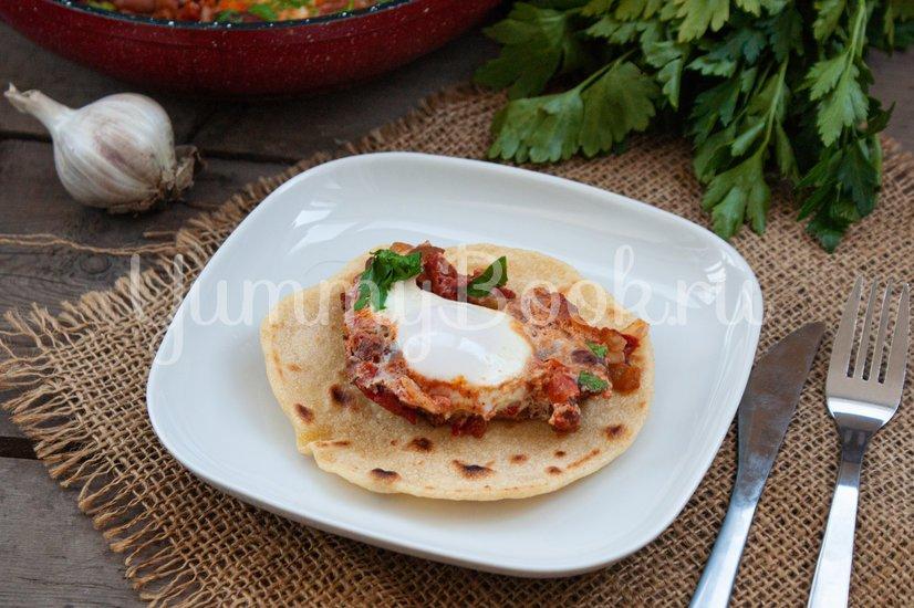 Яйца по-мексикански - шаг 8