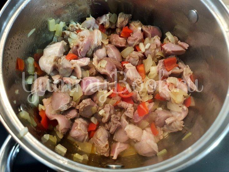 Куриные желудки в остром соусе - шаг 3