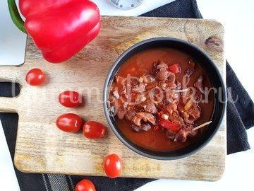 Куриные желудки в остром соусе - шаг 5