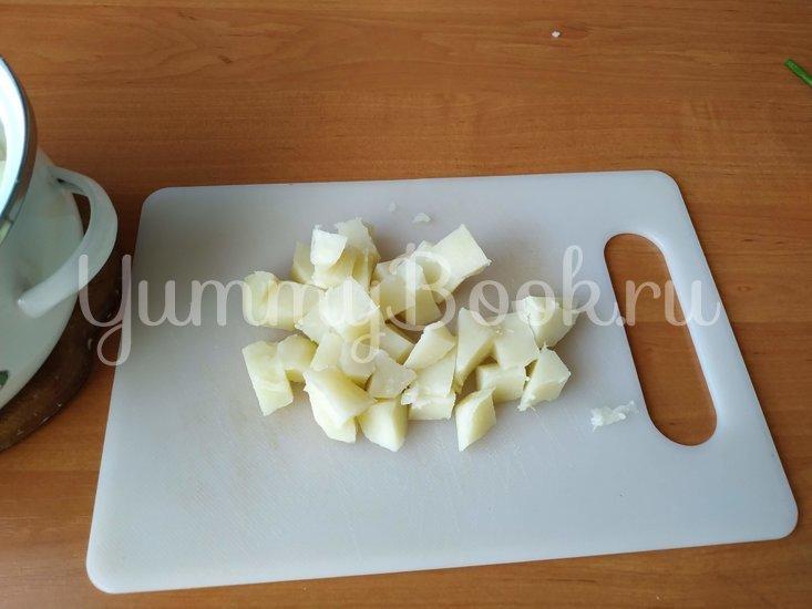 Датский картофельный салат с соусом Ремулад - шаг 5