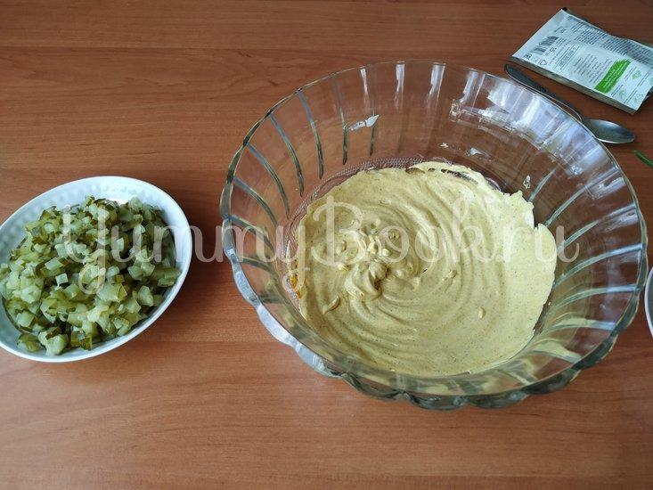 Датский картофельный салат с соусом Ремулад - шаг 3