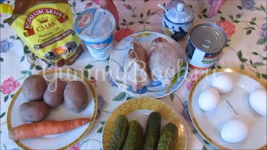 Салат «Оливье» со свининой - шаг 1