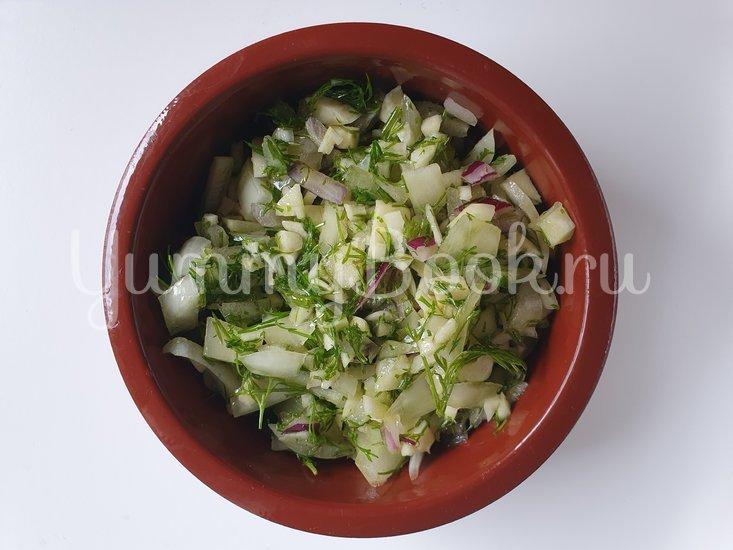 Осьминог с запеченным картофелем в белом вине - шаг 2