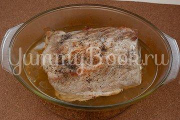 Запеченная свинина под грибным соусом - шаг 3