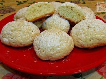 Печенье на фруктовом йогурте