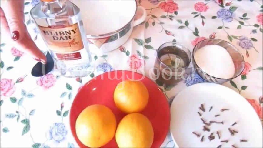 Апельсиново-гвоздичный ликер - шаг 1