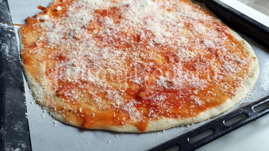 Пицца с морепродуктами  - шаг 7