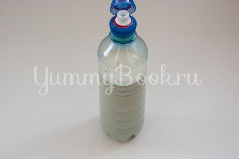 Ажурные блины из бутылки - шаг 5
