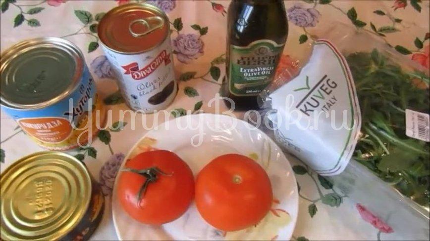 Диетический салат с тунцом и овощами - шаг 1