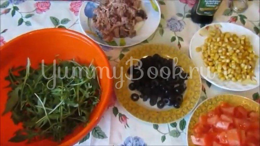 Диетический салат с тунцом и овощами - шаг 2