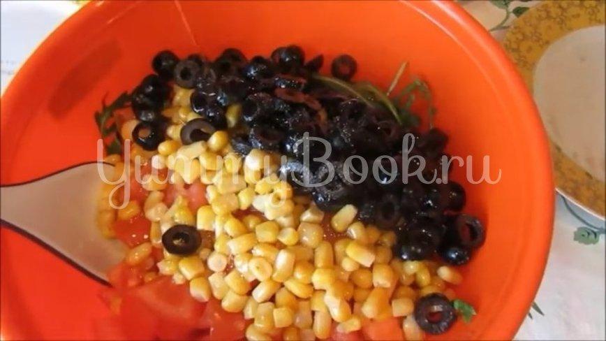 Диетический салат с тунцом и овощами - шаг 3