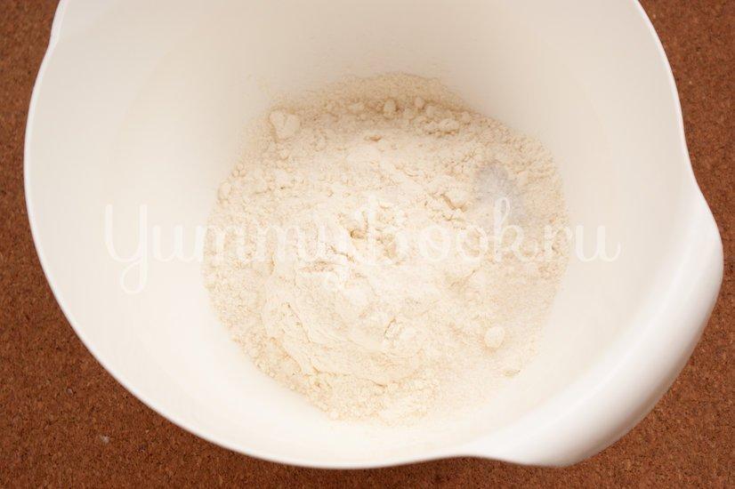 Сырные блины с укропом - шаг 2
