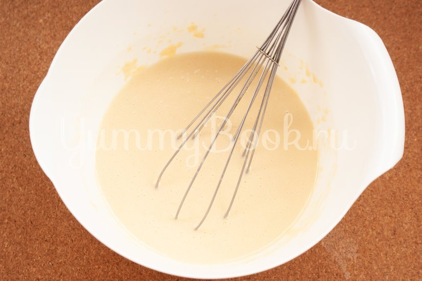 Сырные блины с укропом - шаг 3
