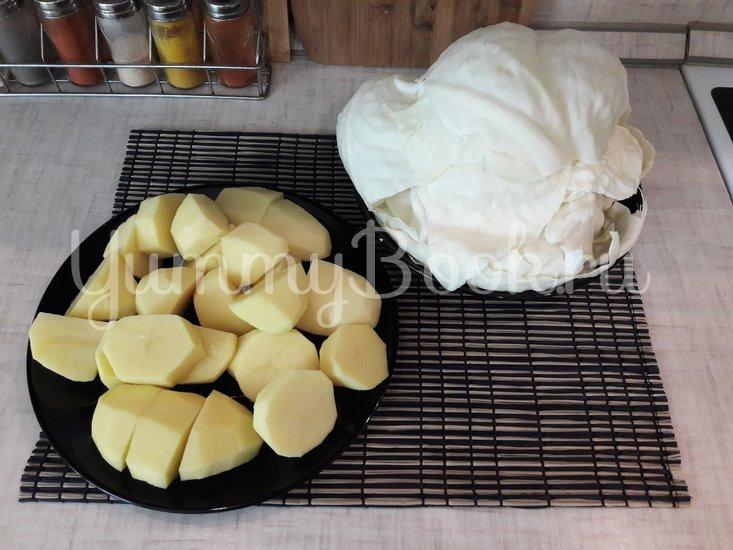 Капустно-картофельное пюре  - шаг 2