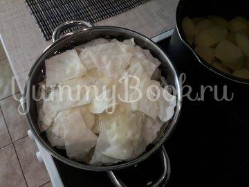 Капустно-картофельное пюре  - шаг 3