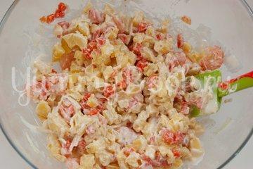 Картофельный салат с креветками - шаг 4