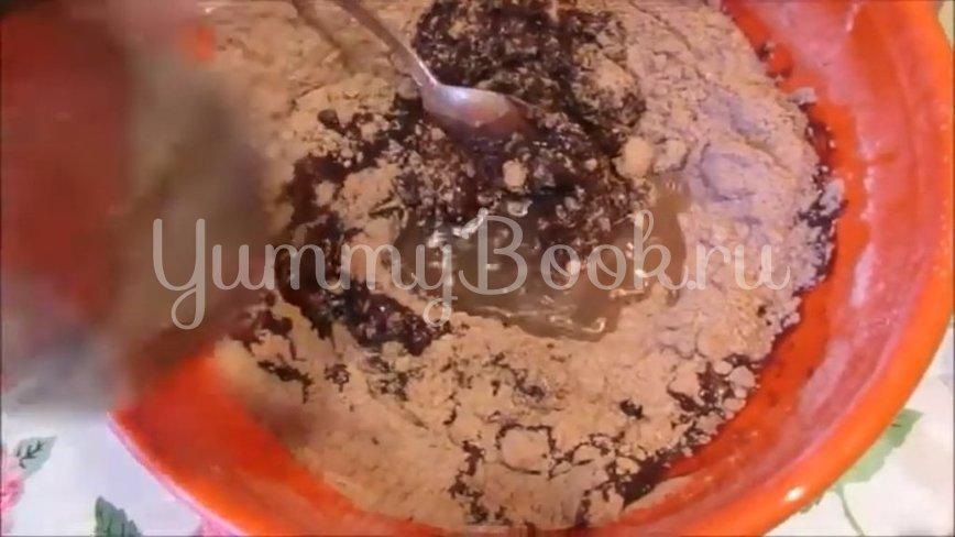 Постное шоколадно-ореховое печенье - шаг 4