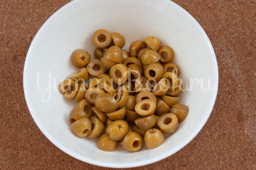 Торсада с оливками - шаг 3