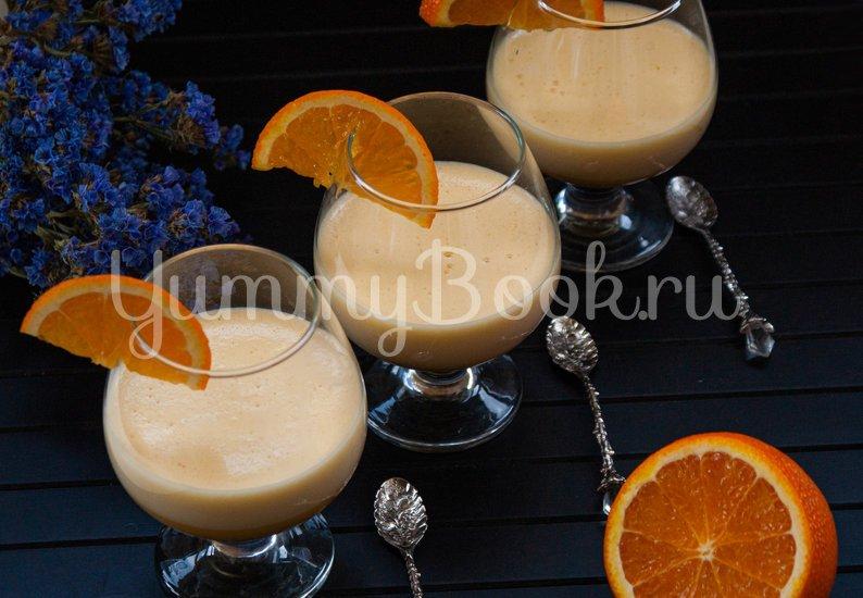 Апельсиновый сабайон - шаг 4