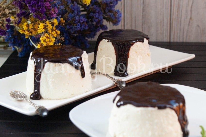 Сливочно-творожный десерт