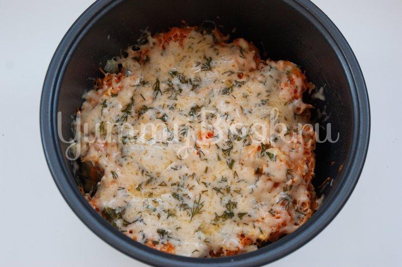 Куриное филе под сыром в мультиварке - шаг 5