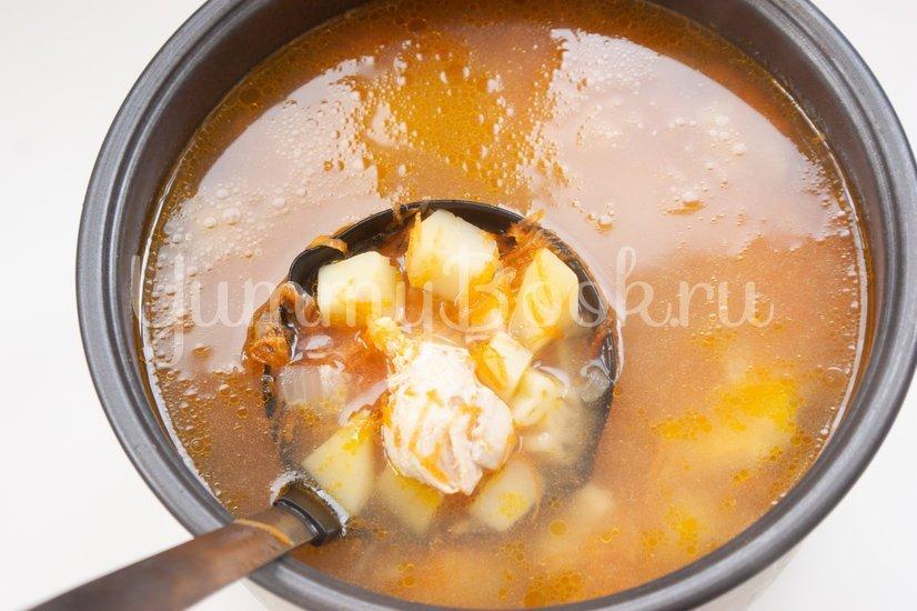 Суп с макаронными изделиями в мультиварке - шаг 6
