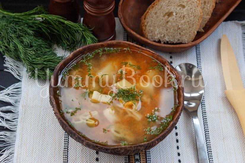 Суп с макаронными изделиями в мультиварке - шаг 7