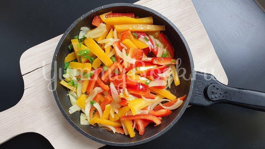 Куриные сердечки с овощами - шаг 3