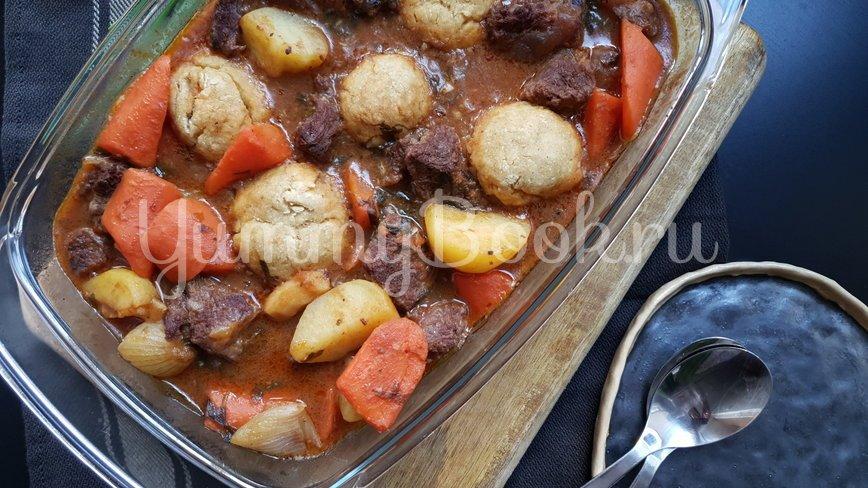 Рагу из говядины и горчичные клецки - шаг 8