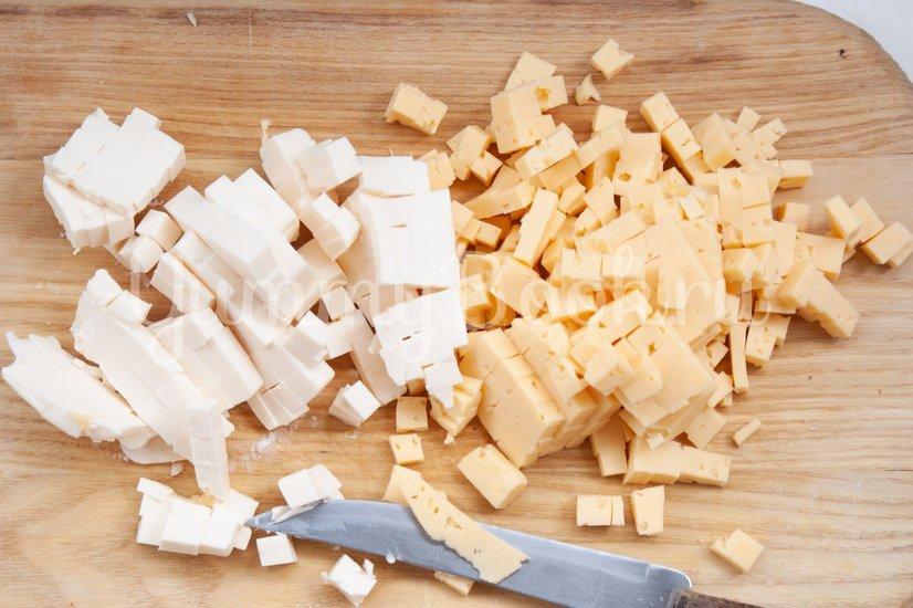 Сырные маффины - шаг 1