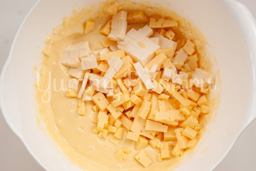 Сырные маффины - шаг 4
