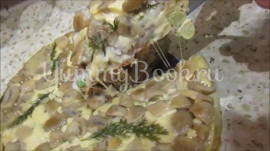 Многослойный заливной пирог - шаг 6