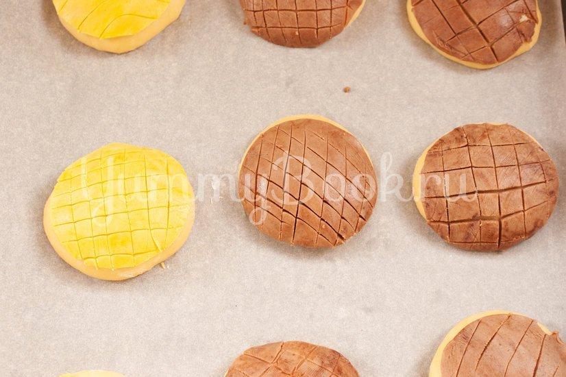 Мексиканские булочки Conchas - шаг 13