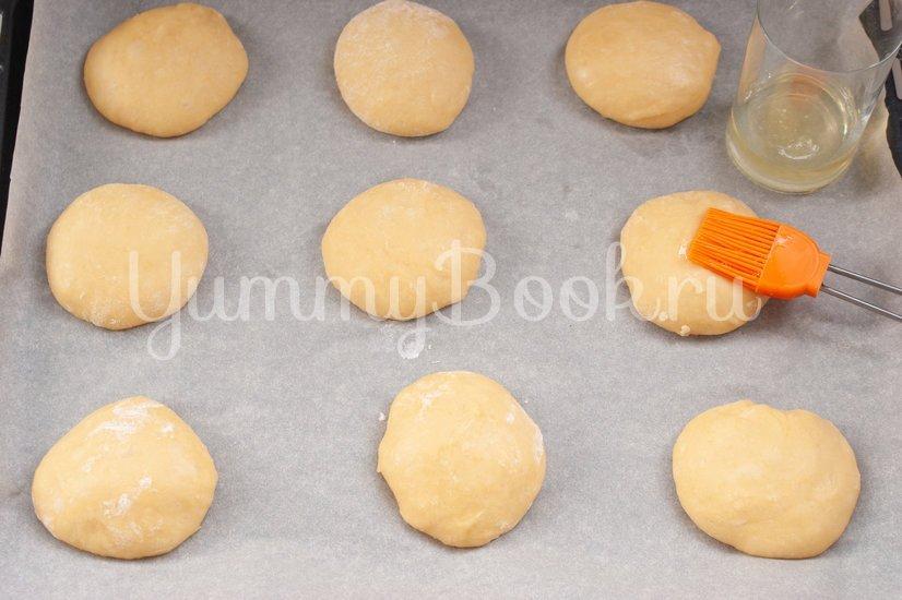 Мексиканские булочки Conchas - шаг 10