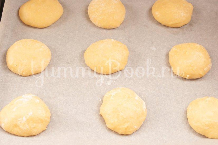 Мексиканские булочки Conchas - шаг 9