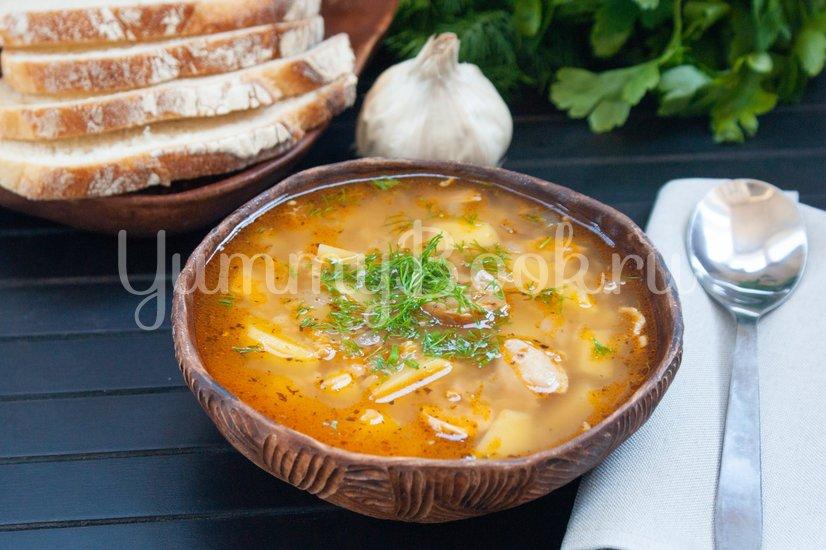 Куриный суп с чечевицей - шаг 5