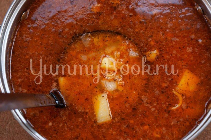 Куриный суп с чечевицей - шаг 4