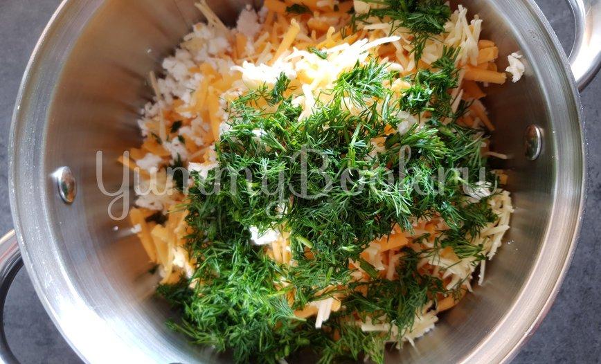 Ленивый Хачапури на сковороде - шаг 4