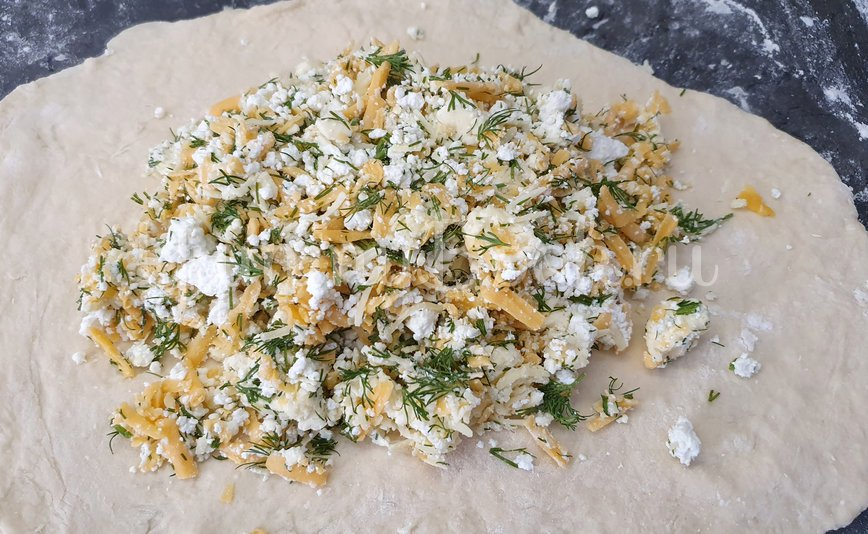 Ленивый Хачапури на сковороде - шаг 6