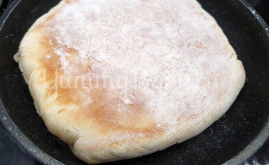 Ленивый Хачапури на сковороде - шаг 9
