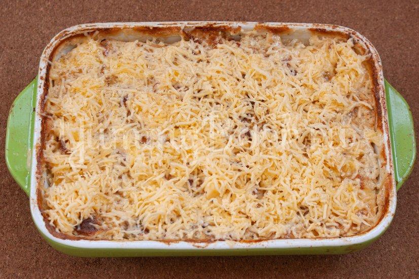 Картофельная запеканка с сёмгой - шаг 8
