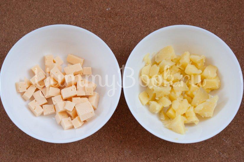 Фокачча с картофелем и сыром - шаг 5