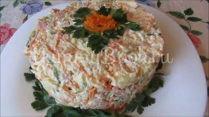 Салат с ветчиной и морковью по-корейски - шаг 4