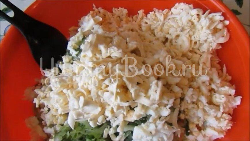 Салат с ветчиной и морковью по-корейски - шаг 3