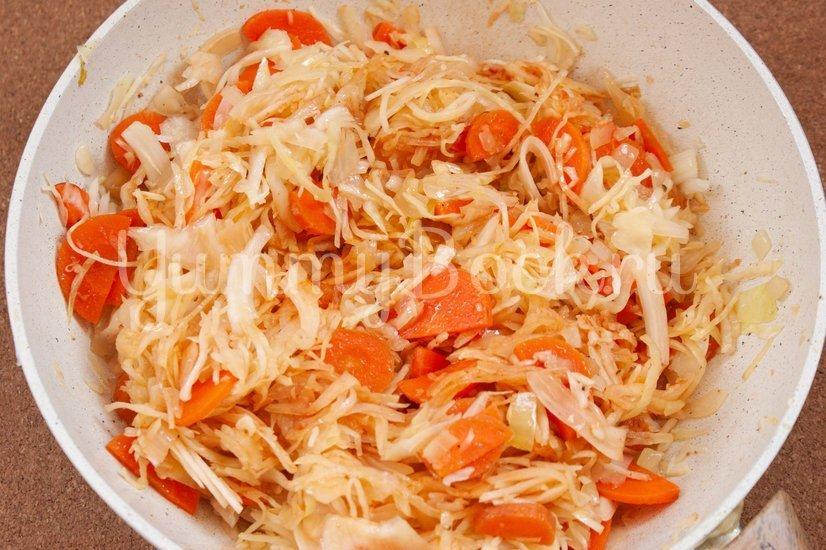 Лаханоризо - тушеная капуста с рисом - шаг 3